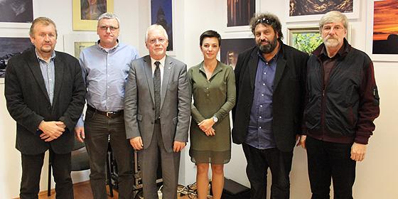 Molnár András, Varga András, Lovass Tibor, Antal Anett és Ekhardt Balázs